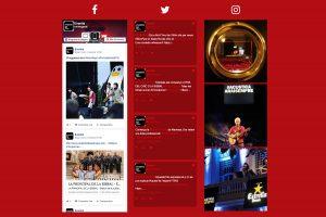 Integració de xarxes socials i Eventis