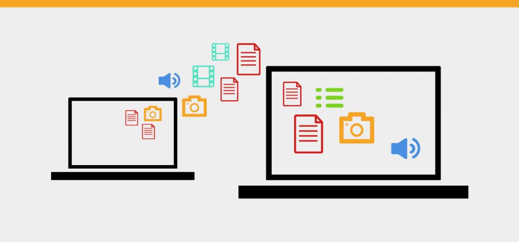 Set Up Data: migració de continguts