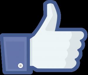 Icona m'agrada Facebook