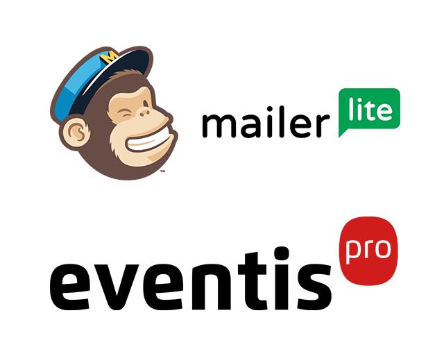 Genera newsletters con Eventis y envíals con MailChimp i MailerLite