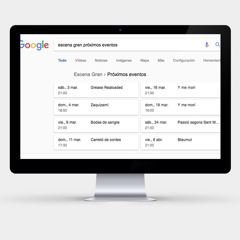 Datos estructurados Google