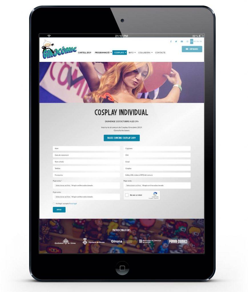 Crea formularis personalitzats amb Eventis.