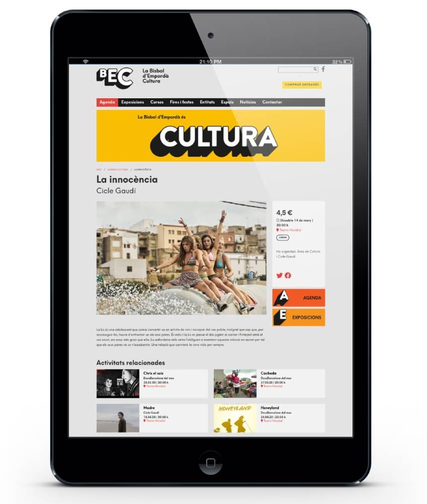 Web de La Bisbal d'Empordà Cultura